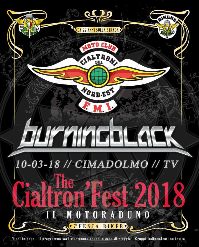 Cialtron Fest Burning Black